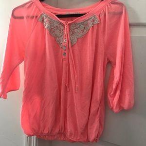 Pink ardenes t-shirt